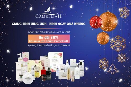 Chào đón Giáng Sinh – Rinh ngay quà khủng từ CamelliaH